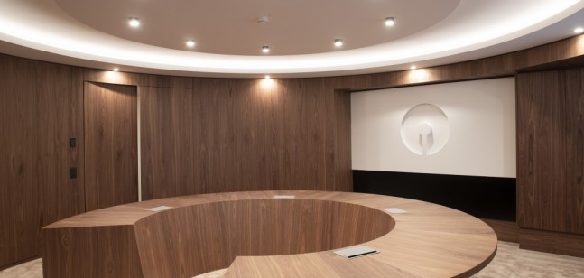 State Bank of India Antwerp - interior works