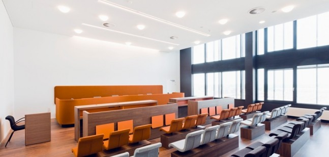 Court of justice custom-made furniture Hasselt
