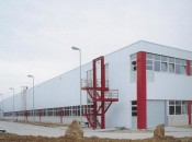 Hall de production Robert Bosch à Tirlemont