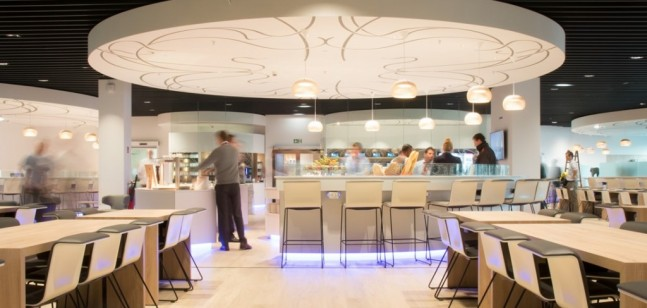 Brussels Airlines Business Lounge The Loft Zaventem